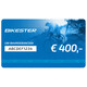 Bikester cadeaubon 400 €